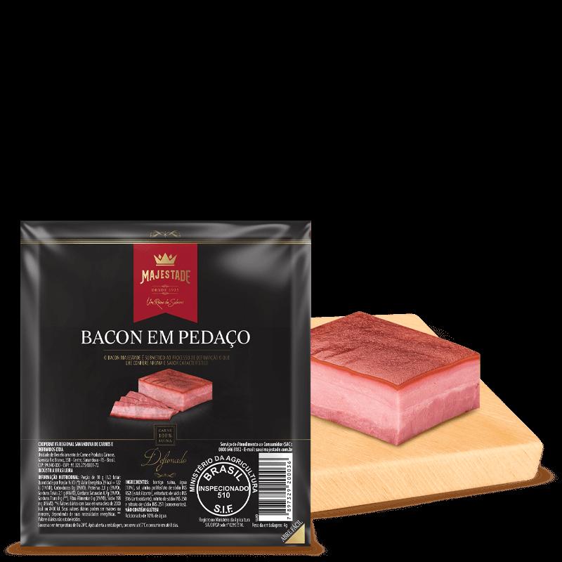 Bacon Pedaço a Vácuo