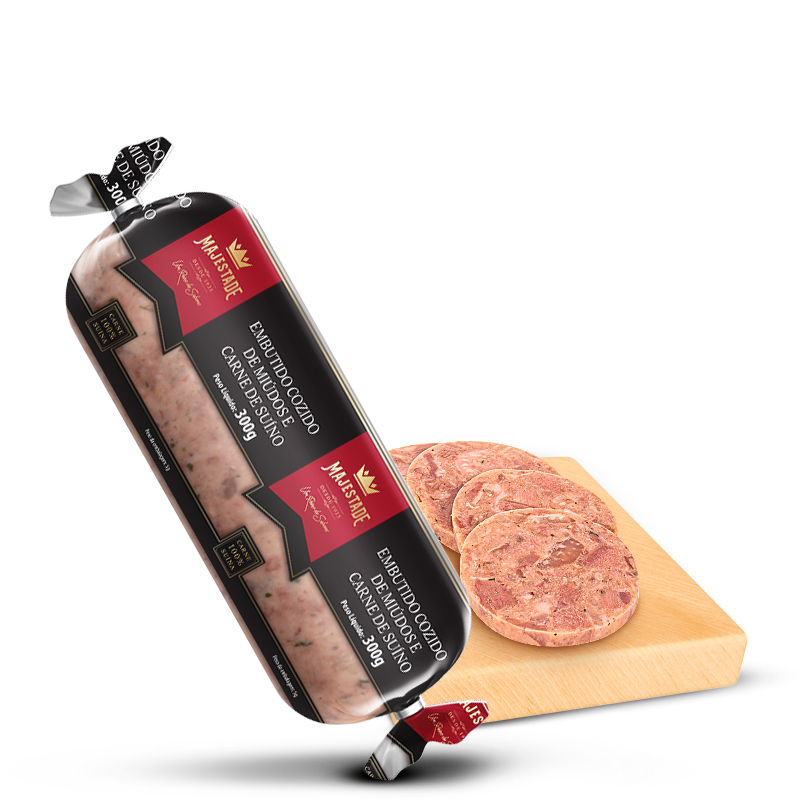 Embutido Cozido de Miúdos e Carne Suína